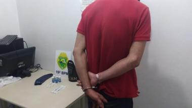 Após denúncias ROTAM apreende droga na Vila Paulista em Toledo
