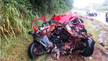 Colisão entre ônibus da Garcia e veículo deixa um morto em Paranavaí