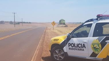 PRE alerta sobre o trânsito em época de colheita na região