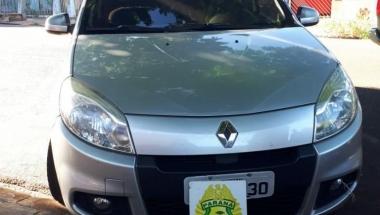 Homem é preso com carro roubado em Terra Roxa