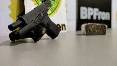 Arma e munições são apreendidas em Guaíra
