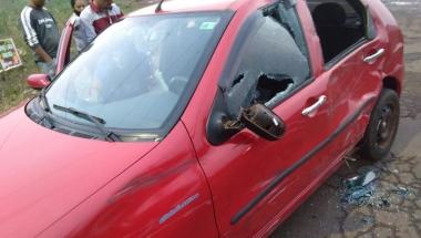 Jovem fica gravemente ferida em acidente na PR 585 em Toledo