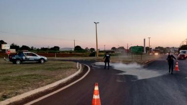 Guarda Municipal auxilia a Polícia Rodoviária Estadual