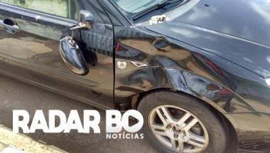 Condutor de Biz fica ferido após colisão em Toledo