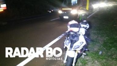 Motociclista fica ferido após sofrer queda na 467 em Toledo