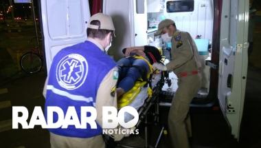 Mulher fica ferida em acidente na Av. Maripá em Toledo