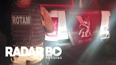 Após informações ROTAM recupera veículo roubado em Terra Roxa