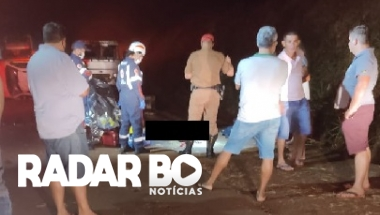 Rapaz perde a vida em acidente na PR 468 entre Assis Chateaubriand e Brasilândia do Sul