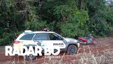 PM recupera Biz após ser furtada em Assis Chateaubriand