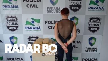 Polícia Civil apreende mais de 23 kg de maconha após denúncia em Toledo