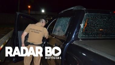 Após acompanhamento tático PM de Toledo recupera Ranger tomada de assalto